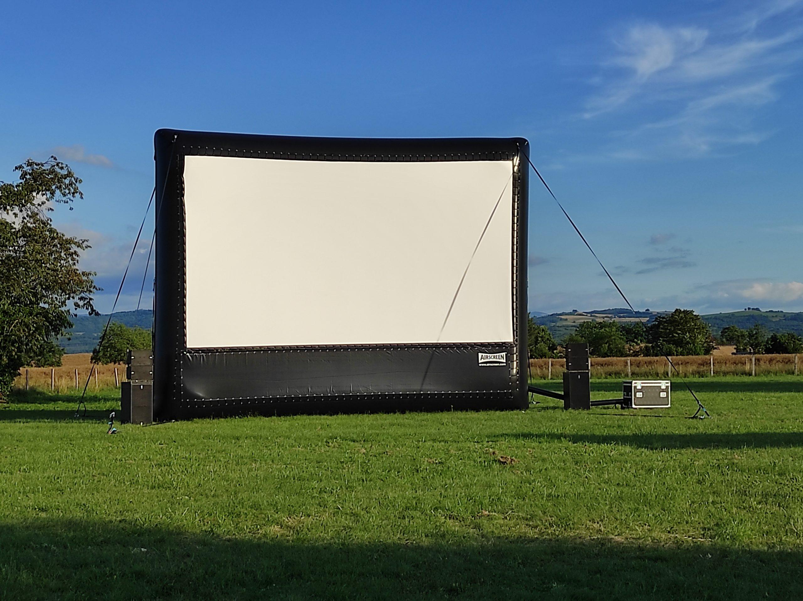 Cinéma en plein air / Écran géant / Écran gonflable